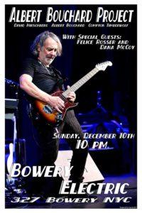 Albert Bouchard Bowery Electic Flyer