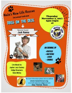 Nalas updated flyer for twisted tuna fundraiser