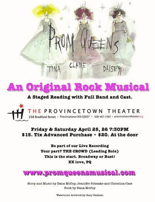 Prom Queens Readings Poster