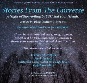 Stories From The Universe Flyer 1 2