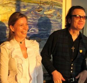 Dana McCoy and Joe Hurley @ Ourland Launch