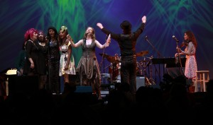 Dana Sings Lincoln Center Ourland 2012 with Joe Hurley conducting, Tish & Snooky, Tami Lynn, and Sheryl Marshall, the boys from Blue Coupe, (Alice Cooper and Blue Oyster Cult) and Music Director Chris Flynn